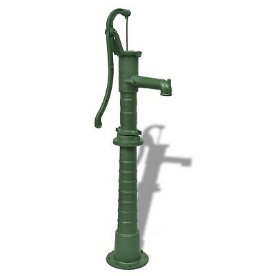 New Garden Water Pump with Mounted Stand Base Pool Cast Iron Green High Quality