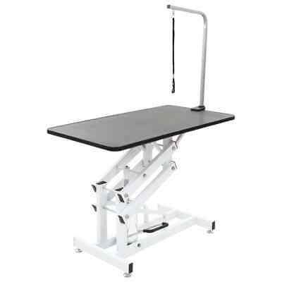 New Hydraulic Bath Grooming Table for Dogs Cats Pets Adjustable Arm Loop Quality