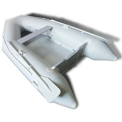 NEW Inflatable Boat Dinghy With Aluminium Floor 270 x 150cm Rowing Sailing Fun