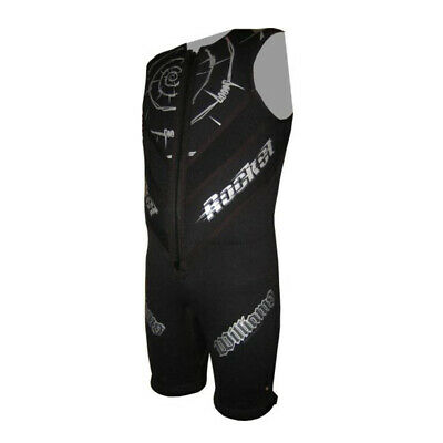 Williams Rocket Barefoot Suit - Mens - Sizes Xs - 4Xl (8460) Pfd-3 Approved