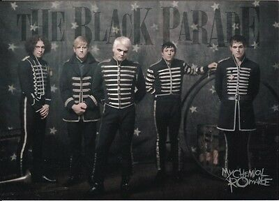 MY CHEMICAL ROMANCE carte postale n° PC 0950   THE BLACK PARADE