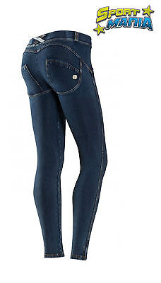 Freddy Wr Up Skinny Jeans Push-up Leggings Blu Scuro Donna WRUP1LJ1E J0/Y