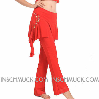C91113 Costume De Danse Du Ventre Pantalon Tribal Fusion Belly Yoga