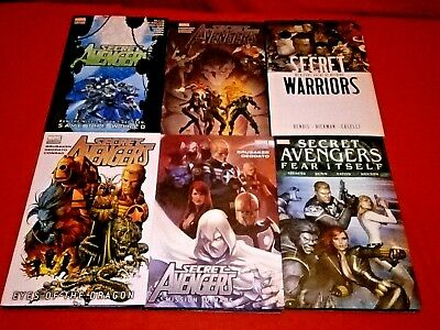 Secret Avengers 1 -25 Vol 1 2 3 4 5 Hb Graphic Novel Secret Warriors 1 -5 Vol 1