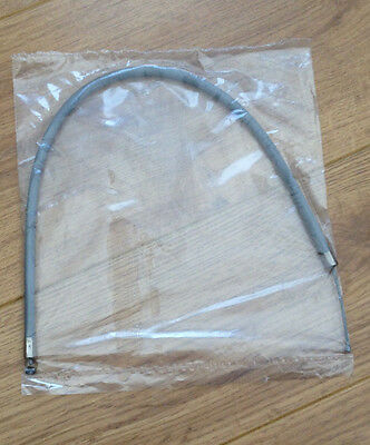Lambretta Grey Choke Cable Nylon Lined. Brand New