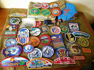 Big Lot of Many Different Vintage Boy Scout Collectibles ~ COLORADO~ Free Ship~