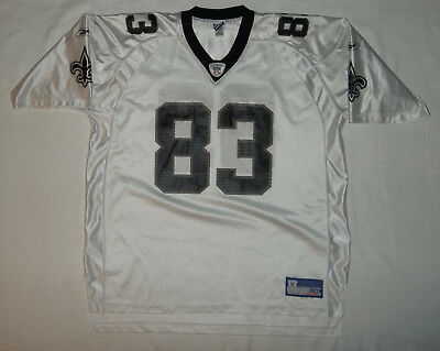 DONTE  STALLWORTH New Orleans Saints Football Jersey Reebok Mens Size  2XLarge c880b934d