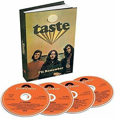 Taste I'll Remember 4 CD BOX SET  Rory Gallagher (No P&P on all UK Orders)