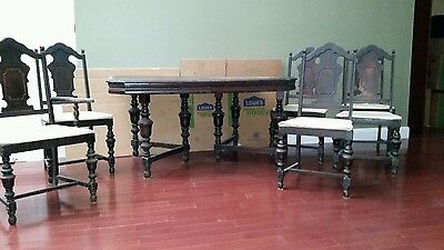 Very nice antique dining room set