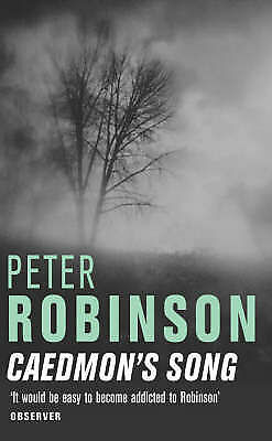 Caedmon's Song by Peter Robinson BRAND NEW BOOK (Paperback 2004)