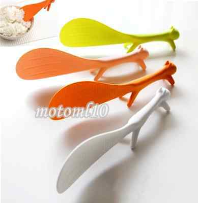 Kitchen Novelty Squirrel Shape Dinner Rice Paddle Ladle Scoop Spoon Non-stick Mo
