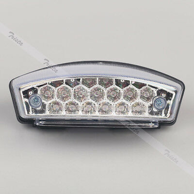 21 LED Motorcycle Dirt Bike Rear Brake Stop License Plate Integrated Tail Light