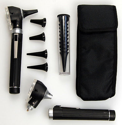 Valuemed Mini Otoscope Fiber Optic Medical Diagnostic Ent Nhs Ce Approved New