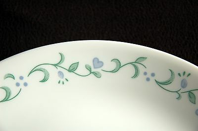 4 Corelle Dinner Plates ~ Country Cottage ~ Nice!