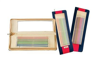KNITPRO Zing Single Pointed/Straight Needle Sets 25, 30, 35 or 40 cm length