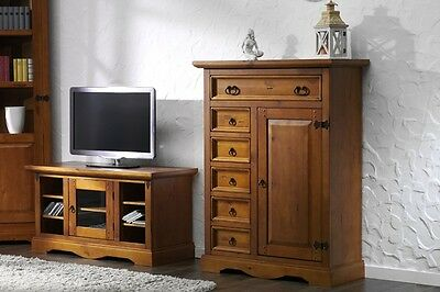 schrank buffet sideboard massiv mahagoni kolonialstil eur 598 00 picclick de. Black Bedroom Furniture Sets. Home Design Ideas