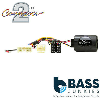 CTSMT004.2 Mitsubishi Colt 2009 On Car CLARION Stereo Steering Wheel Interface