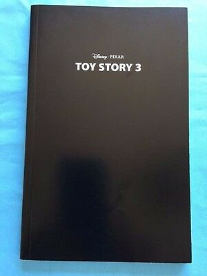 Toy Story 3 *signed For Your Consideration Script*