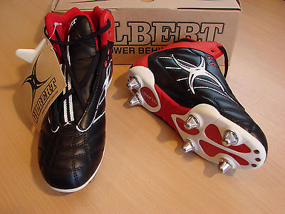 Gilbert Sidestep Rugby Boots (St6) Size Uk 8 Eur 42