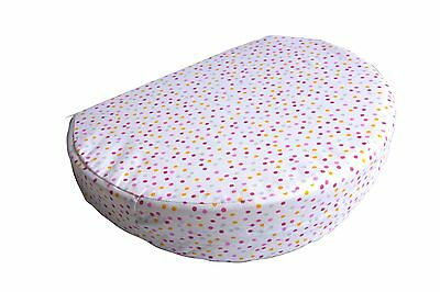 Maternity Support Pregnancy Support Pillow Wedge Pillow - New Pink Dot Spot