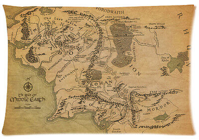 Hot New Pillowcase Custom The Lord of the Rings Pillow Case 20x30 Inch One Side