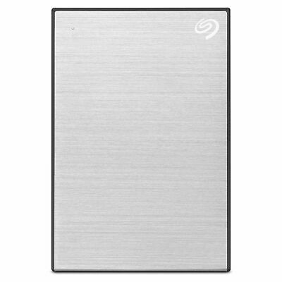 Seagate Backup Plus Slim 2TB  USB 3.0 Portable Hard Drive Silver 2.5 STDR2000301