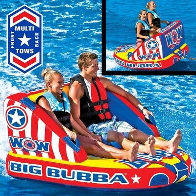 Wow Watersports Big Bubba Inflatable Towable Ski Tube (13-1081)