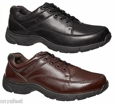 Mens HUSH PUPPIES STREETON Black FORMAL/DRESS/WORK/CASUAL/LEATHER SHOES MEN'S