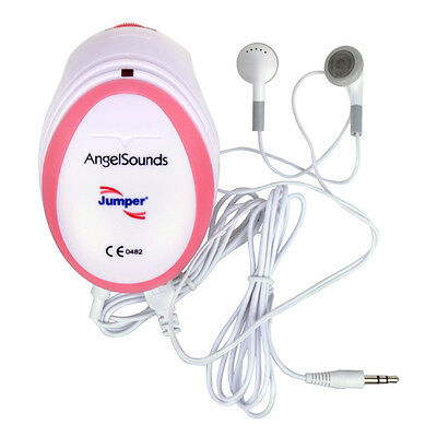 Angelsounds Portable Baby Fetal Doppler Heartbeat Monitor Detector 3MHz 2015