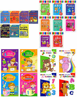 Kids Learning Workbooks Childrens Educational Workbook Pre School Book Activity