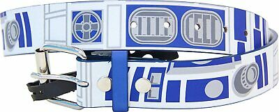 Adult Epic Space Opera Movie Star Wars R2-D2 Robot Droid White and Blue Belt