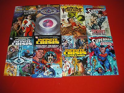 Infinite Crisis - Prelude - Companion Superman Omac Vengeance Rann Graphic Novel