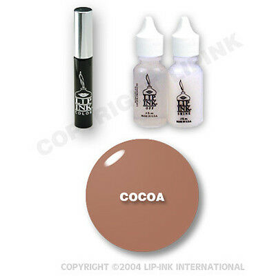 LIP INK Organic  Smearproof Special Edition Lip Kit - Cocoa