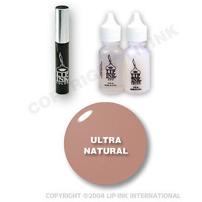 LIP INK Organic  Smearproof Special Edition Lip Kit - Ultra Natural