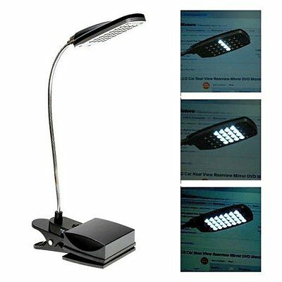 3 Modes 28 LED Clamp On Lazy Men Bed Table Desk USB Light Lamp for Reading Study