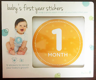 Baby's First Year Stickers My Tiny Ideas 12 Stickers