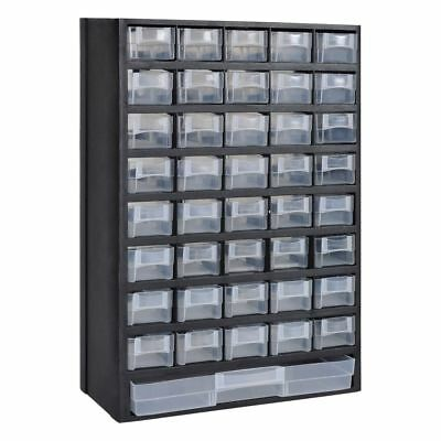 Drawer Tool Box Garage Storing Cabinet Storage Black Plastic Case Small Drawers