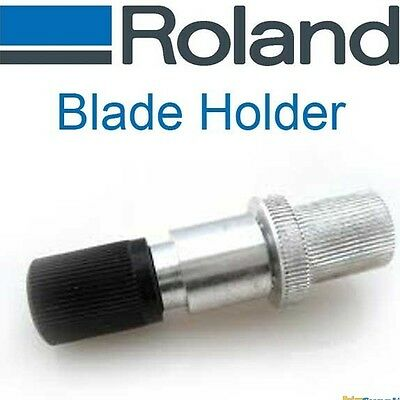 Vinyl Cutter Blade Holder for Roland Cutters - Silver Aluminum - No Genuine