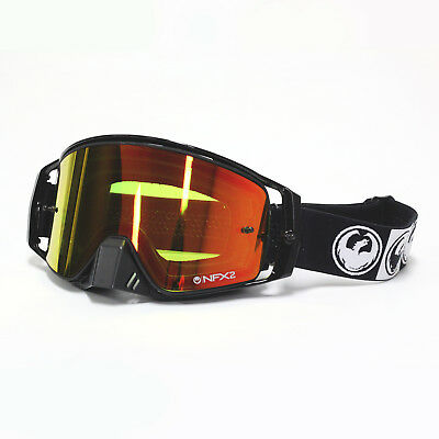 Dragon NEW Mx NFX2 Podium Black Injected Red Ion Motocross Dirt Bike Goggles