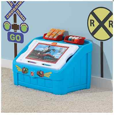 Toy Storage Box Kids Organiser Play Unit Bedroom Playroom Character Trunk