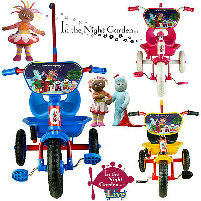 In The Night Garden Bike Trike Tricycle Kid Child Toddler Outdoor Ride On Toy