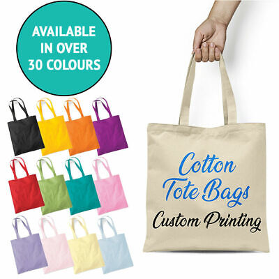 Personalised Custom Any Name Text Printed Hen Do Wedding Party Cotton Tote Bag
