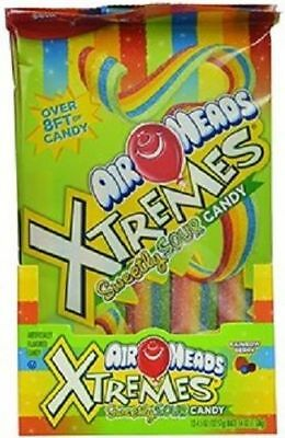 Airheads Xtremes Rainbow Berry Flavor Sour Chewy Candy
