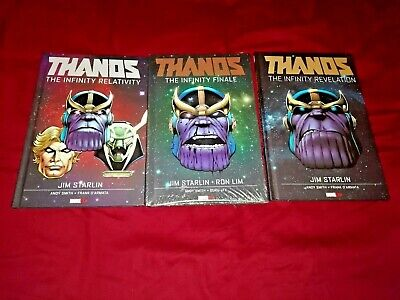 THANOS INFINITY REVELATION RELATIVITY FINALE ENTITY THANOS vs HULK GRAPHIC NOVEL
