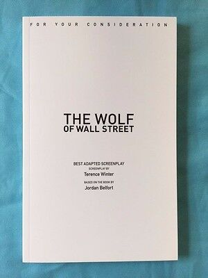 The Wolf Of Wall Street *'for Your Consideration' Script*