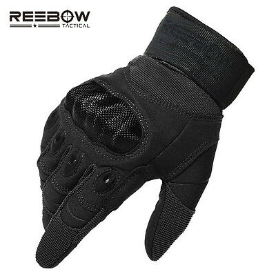 Tactical Outdoor Protective Gloves Hard Knuckle Breathable Warm Flexible Gloves