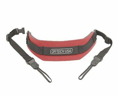 OpTech 1502372 Pro Camera Strap with Pro Loop Connectors - Red Op Tech Op/Tech