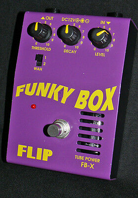 Rare & Collectable Guyatone Flip FB-X Funky Box Tube Auto Wah Filter Made Japan