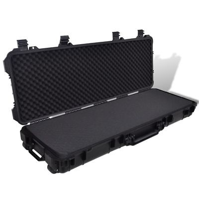 New Hunting Accessory Gun Carrying Case Holder Trolly Molded Box Gun Storage