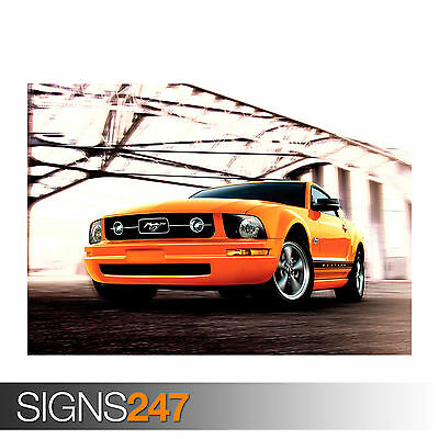 FORD MUSTANG 9204 Photo Picture Poster Print Art A0 A1 A2 A3 A4